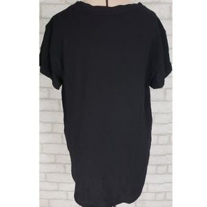Anthropologie Tops - Cloth and Stone Anthro Black High-Low Top S